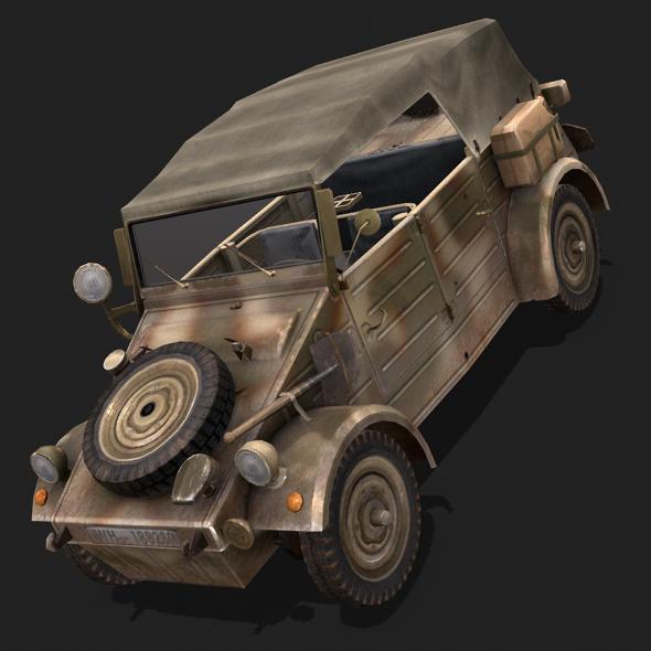 Kubelwagen - 3DOcean Item for Sale