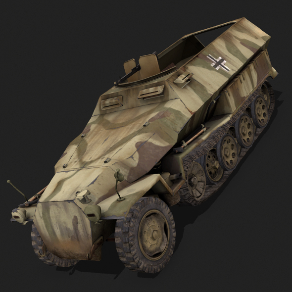 SdKfz 251 - 3DOcean Item for Sale