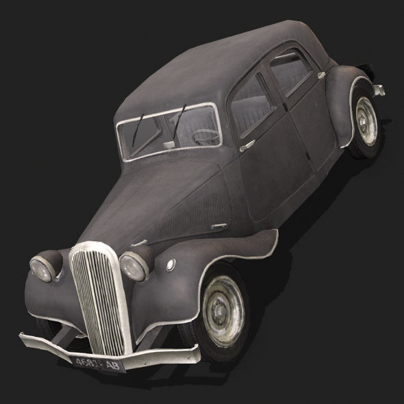 Citroen CV11 - 3DOcean Item for Sale