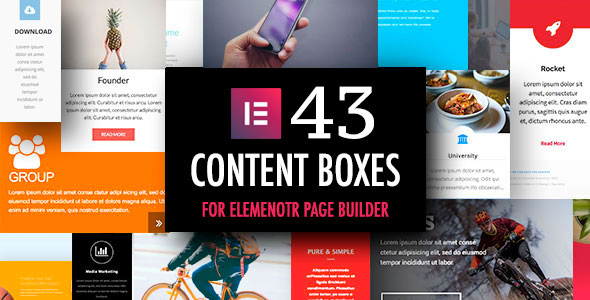 Content Boxes Addons for Elementor Page Builder - CodeCanyon Item for Sale