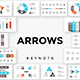 Arrows Keynote Infographics - GraphicRiver Item for Sale