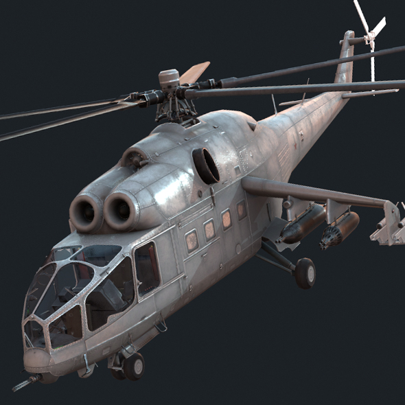 Mi-24a - 3DOcean Item for Sale