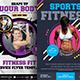 Fitness Flyers Bundle template
