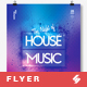 House Music Party Flyer / Poster Template A3 - GraphicRiver Item for Sale