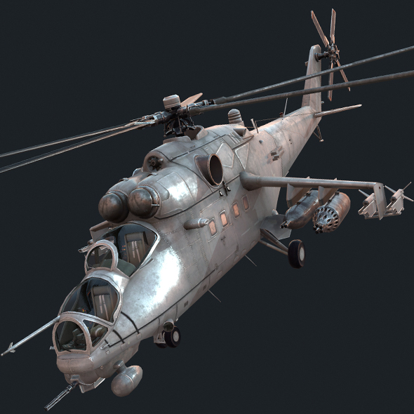 Mi-35m - 3DOcean Item for Sale