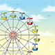 Ferris Wheel in Front of Sky - GraphicRiver Item for Sale