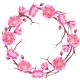 Frame with Sakura or Cherry Blossom - GraphicRiver Item for Sale