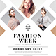 Clean Fashion Week Event Flyer - GraphicRiver Item for Sale