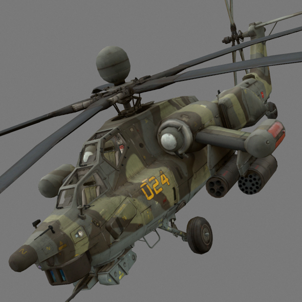 Havoc Mi-28 - 3DOcean Item for Sale