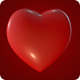 Rotating Red Heart Symbol - VideoHive Item for Sale