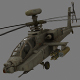AH-64 Apache - 3DOcean Item for Sale