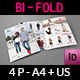 Fashion Catalog Bi-Fold  Brochure Template