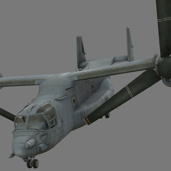 MV-22 Osprey - 3DOcean Item for Sale
