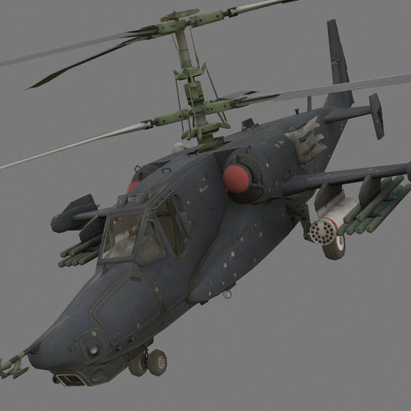 Kamov Ka-50 - 3DOcean Item for Sale