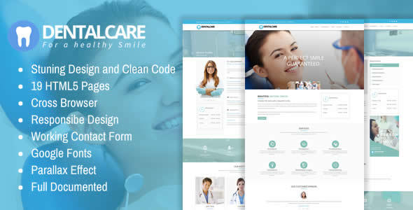 Dental Care - Responsive Dentist & Medical HTML Template - Health & Beauty Retail