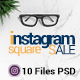 Square Instagram Sale - GraphicRiver Item for Sale
