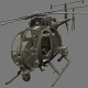 Boeing AH-6 - 3DOcean Item for Sale