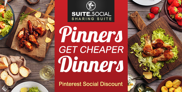 Social Sharer - Pinterest Social Discount - CodeCanyon Item for Sale