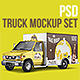 PSD Truck Mockup - GraphicRiver Item for Sale