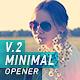 Minimal Opener_V.2 - VideoHive Item for Sale