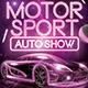 Motor Sport - Auto Show Flyer