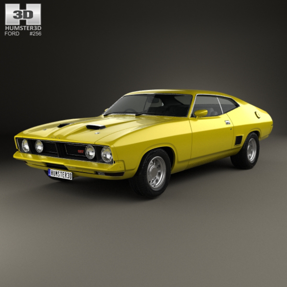 Ford Falcon GT Coupe 1973 - 3DOcean Item for Sale