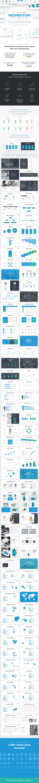 Momentum Professional Google Slides Template Business Pitch Deck - Google Slides Presentation Templates