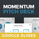 Momentum Professional Google Slides Template Business Pitch Deck