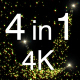 4 Fairly Particles 4K Pack - VideoHive Item for Sale