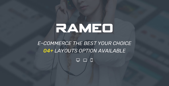 Rameo - Multipurpose Theme for WooCommerce WordPress