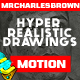 Hyper Realistic Drawings Animated Pack - VideoHive Item for Sale