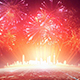 City Festive Fireworks - VideoHive Item for Sale