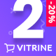 Vitrine - минималистичная WooCommerce тема