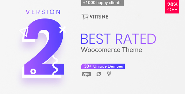 Vitrine - WooCommerce WordPress Theme