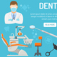 Dental Services Banner and Infographics - GraphicRiver Item for Sale