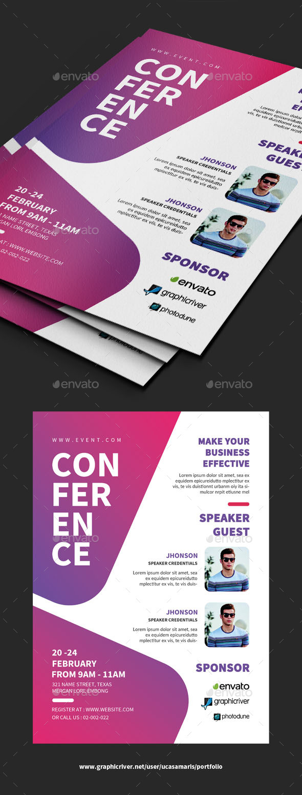 Conference Flyer - Events Flyers