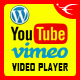 Youtube Vimeo Video Player and Slider WP Plugin - CodeCanyon Item for Sale