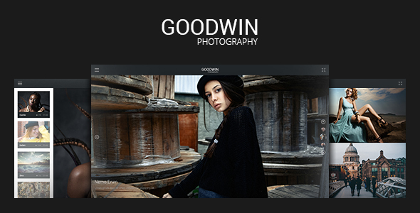 Photography Website Template - GoodWin - Photography Creative