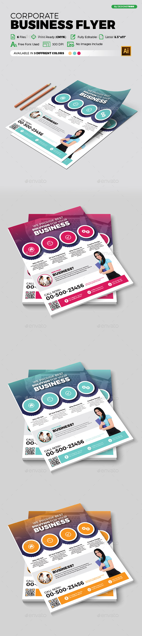 Flyer – Multipurpose 365 - Corporate Flyers