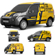 Realistic PSD Car Mockup - GraphicRiver Item for Sale