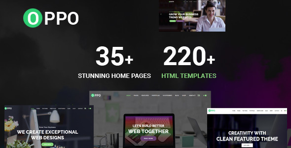 Oppo | The Responsive Multi-Purpose HTML Template - Creative Site Templates