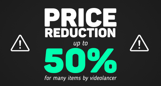 Price reduction up to 50%