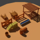 Low Poly Farm Miscellaneous