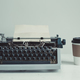 old typewriter on the table - PhotoDune Item for Sale