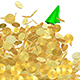 Fast Growing Gold Coins Chart - VideoHive Item for Sale