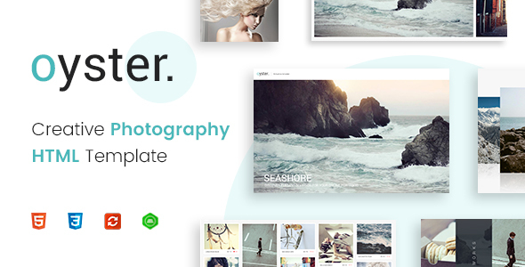 Oyster - Creative Photography HTML Template