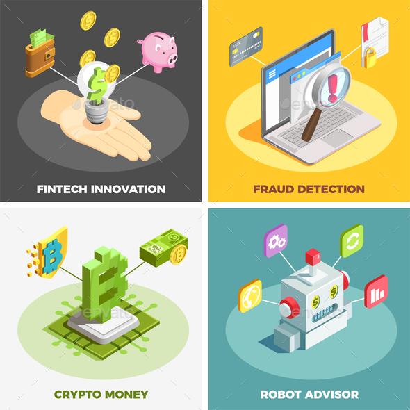 Financial Technology 2x2 Design Concept - Concepts Business