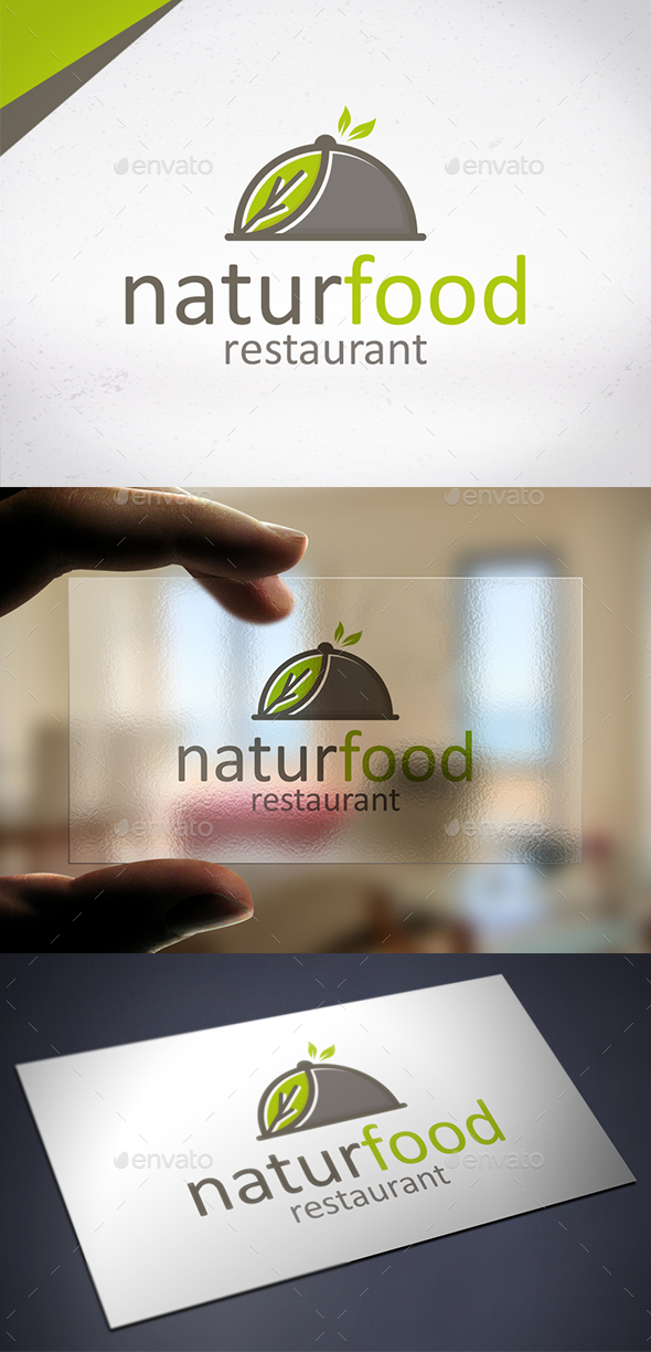 Eat Veggie Food Logo - Restaurant Logo Templates