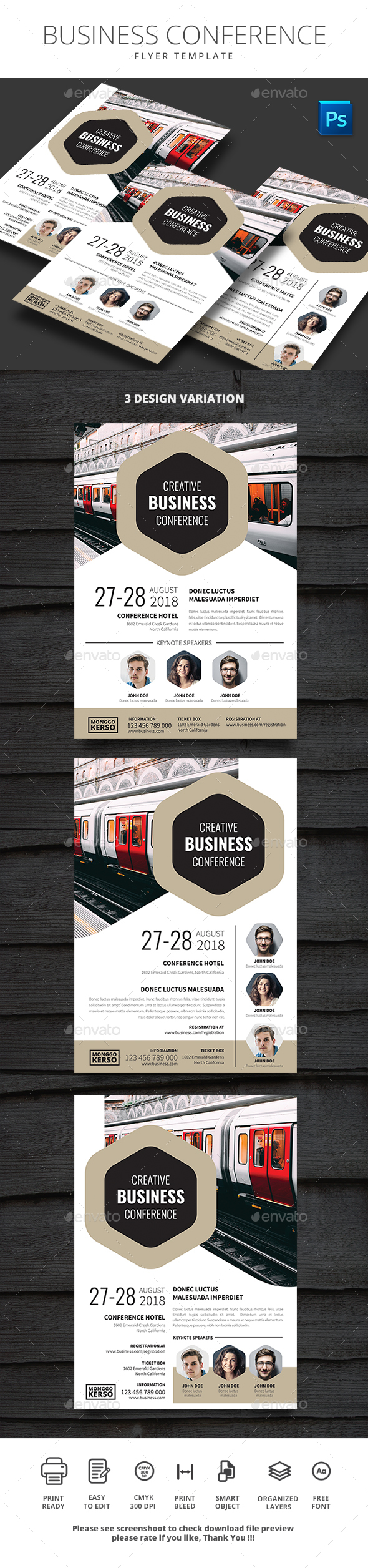 Business Conference - Events Flyers