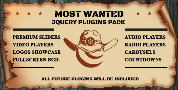 Most Wanted jQuery Plugins Pack